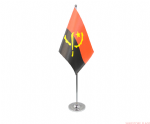 ANGOLA - DELUXE SATIN TABLE FLAG